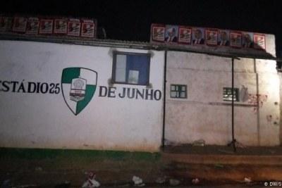 Junho Stadium in Nampula city.