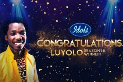 Luyolo Yiba wins Idols SA