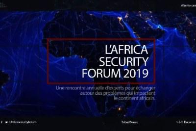 Africa Security Forum 2019