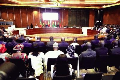 session extraordinaire de la conférence des chefs d'Etat et de gouvernement (CCEG) de l'Union économique monétaire ouest africaine (UEMOA)