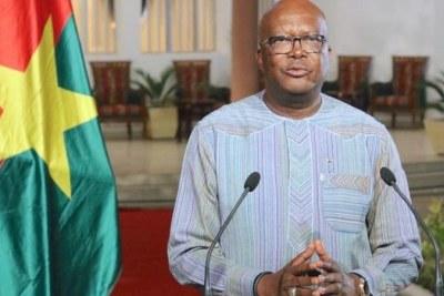 Le président Roch Marc Christian Kaboré