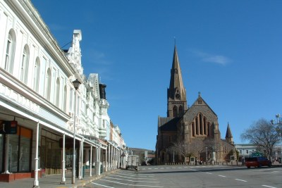 File photo of the cathedral in Makana (formerly Grahamstown).