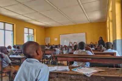 School children in a classroom (file photo).