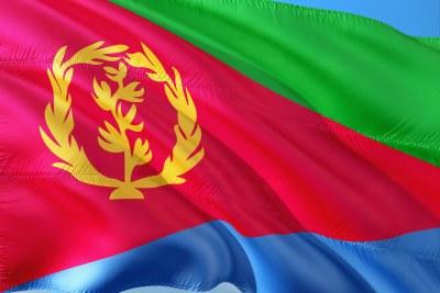 Le drapeau d''Érythrée