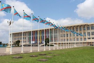 Palais du Peuple à Kinshasa