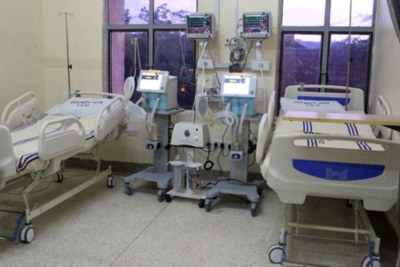 Some of the facilities at the Mandera County Referral Hospital's Intensive Care Unit.