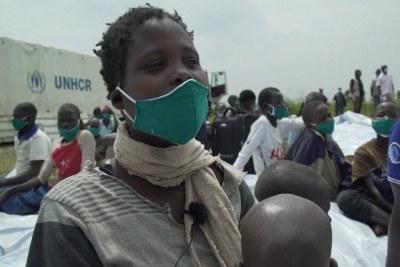 Anurith, une réfugiée congolaise