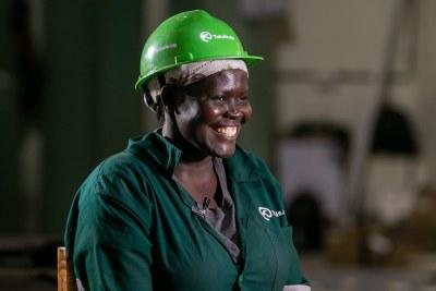 Young Africa Works Uganda Akiding Elizabeth Oumo Welder Tukole Program Innovation Village