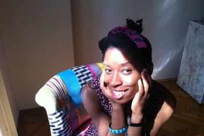 Nigerian author, Irenosen Okojie.