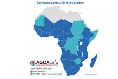 Countries Eligible Under the African Growth and Opportunity Act (Agoa)