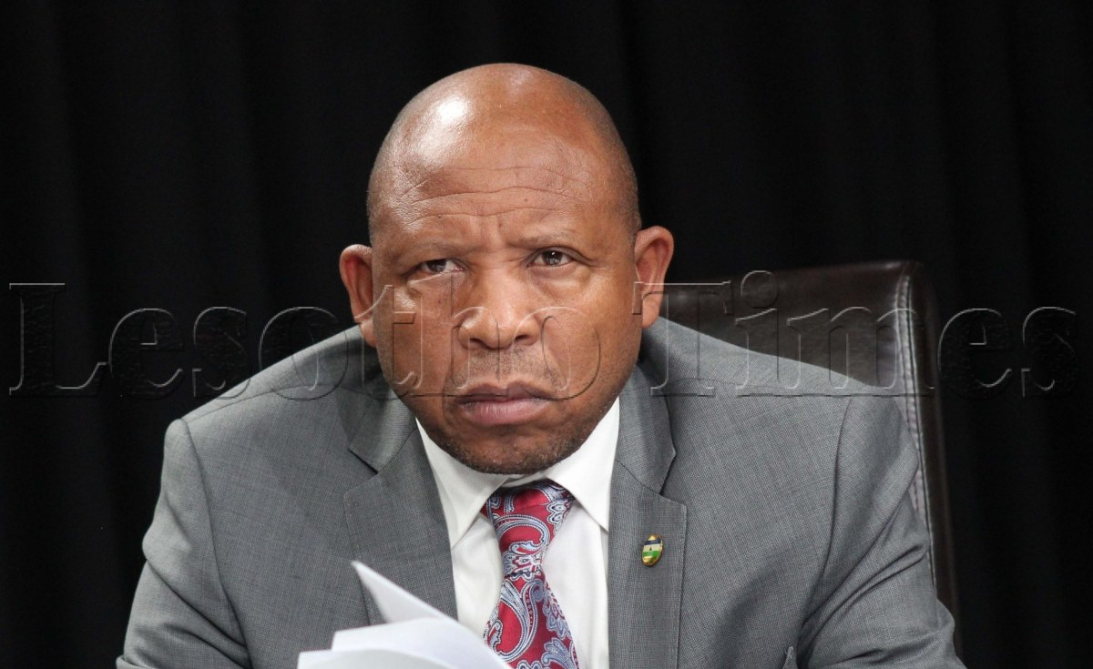Lesotho: Defence Minister Mosito Fired