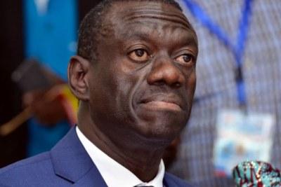 Former presidential candidate Kizza Besigye.