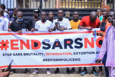 Witnesses said gunmen opened fire on a crowd of over 1,000 people in Lagos, and local news outlets and Amnesty International are reporting that people were killed during the latest #EndSARS protests, though the death toll remains unclear.