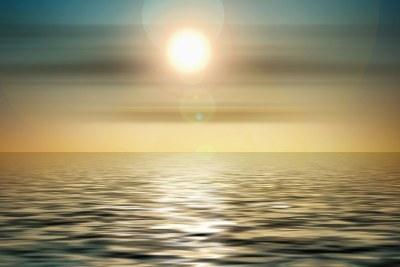 Sunset. Sea. Drown.