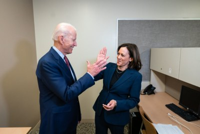 Président Joe Biden et  la vice-présidente Kamala Harris