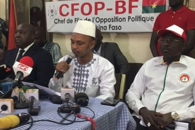Burkina Faso opposition leaders.