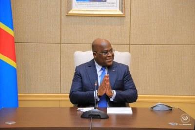 Clôture de la seizième et dernière journée des Consultations présidentielles sous la direction du Chef de l'État, Félix-Antoine Tshisekedi Tshilombo.