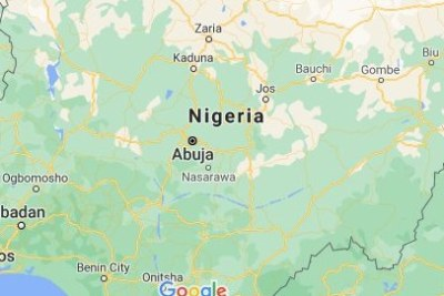 Carte du Nigeria.