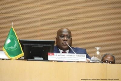 Discours d'acceptation de S.E. M. Felix-Antoine Tshisekedi Tshilombo, Président entrant de l'Union africaine et Président de la République Démocratique du Congo à la 34ème Session Ordinaire de la Conférence de l'UA