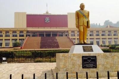 Central African Republic's  parliament in Bangui.