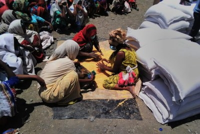 As reports of atrocities by fighters emerge in Tigray, women are struggling to feed their families. The World Food Programme provided urgently needed supplies to more than 28,000 more people on March 29.