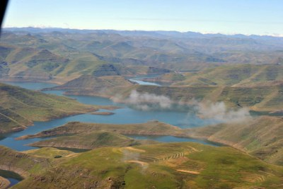 The Lesotho Highlands Water Project (file photo).