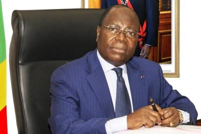 Clément MOUAMBA, Premier Ministre du Congo