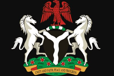 Coats of arms of Nigeria (file photo).