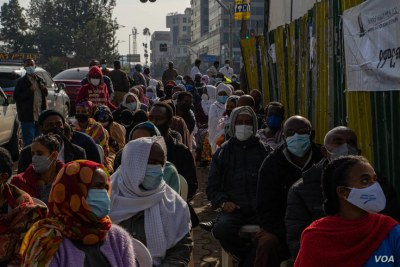 Ethiopians voters went to the polls in the early hours of the morning in Addis Ababa, Ethiopia, June 21, 2021.
