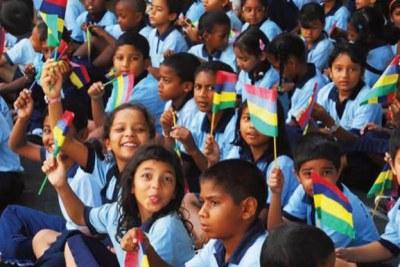 Les enfants mauriciens