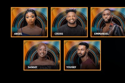 Angel, Cross, Emmanuel, Nini, and Yousef up for eviction.
