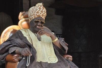 Le sultan roi des Bamouns, Ibrahim Mbombo Njoya