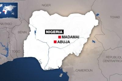 Dans le village de Madamai au Nigeria, une attaque a fait au moins 34 morts, dimanche 26 septembre 2021.